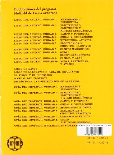 Libro alumno y g/p. U-10. Ondas, partículas. Y átomos (Física avanzada Nuffield)