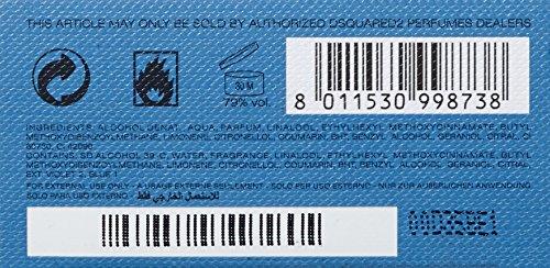 Dsquared Potion Blue Cadet Eau De Toilette 100 ml