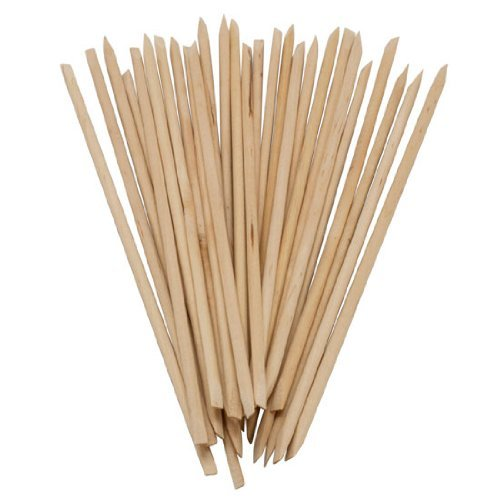 350buy 100 X Nail Art Orange Wood Stick Cuticle Pusher Remover by 350buy