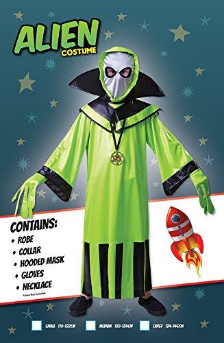 Imagen de alien  niños disfraz  grande 134cm a 146cm alternativa