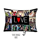 #1: Personalized Photos Love Cushion - Pillow 1, Filler 1, Valentine Gifts, Anniversary Gifts, Birthday Gifts, Gifts for Wife, Gifts For Girlfriend, Personalize Cushion, Personalize valentine gifts - AGIFTS113632