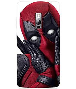 Cool & Creative Silicon Printed Back Cover For One Plus Two ( 1+ 2 )