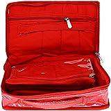 Bagaholics 4 Zip Pockets Multifunction Beauty Travel Multipurpose Cosmetic Bag Organizer Case Makeup Make Up Wash...