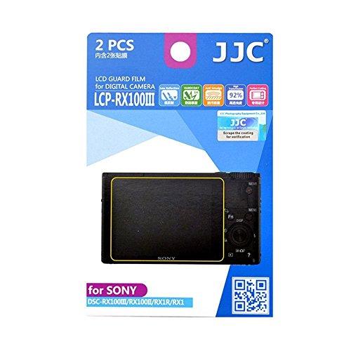 JJC lcp-rx100iii Displayschutzfolie für Sony DSC-RX100III/RX100II/RX1R/RX1 (Rx1 Screen Protector)
