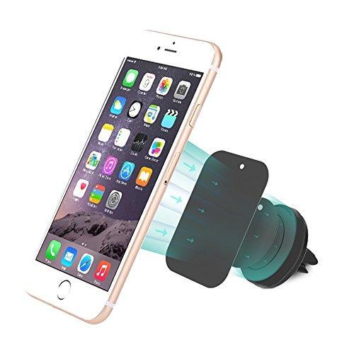 dodocool® Portable Rotazione 360° Universale magnetico supporto per auto telefono Car Air Vent Outlet Supporto per iPhone 6 6 Plus 5 5C 5S 4 4S Samsung Smartphone GPS