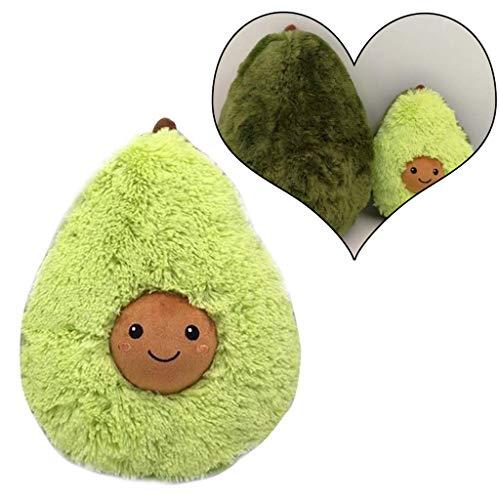 AMhomely® 2019 Weiches PlüschKissen niedlich Avocado Kissen Dekorative Kissen für Kinder Fotografie-Requisiten-Hintergrund, Sofa-Rückenkissen, Rundkissen, Hausdekoration (45cm)