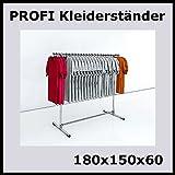 raff 180x150x60 KLEIDERSTÄNDER TEXTILSTÄNDER Garderobe FREISTEHEND-T180