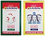 G.K. Olympiad General Knowledge Quiz Bank English (Pack of 2 Books - Class 11 and 12)
