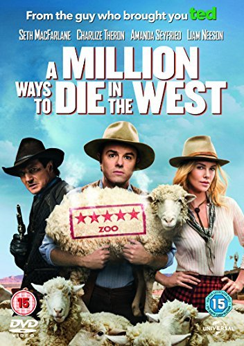 A Million Ways to Die in the West [DVD] by Liam Neeson