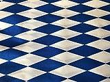 Ramona Lippert Dekostoff Stoff Bayernraute 5 Meter Blau