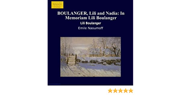 Carte Boulanger Sombre 129.Boulanger Lili And Nadia In Memoriam Lili Boulanger