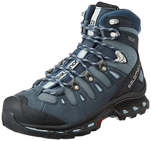 Salomon Quest 4D 2 GTX W, Scarpe da Arrampicata Donna, Blu (Deep Stone Blue/Light Onix), 36 2/3 EU