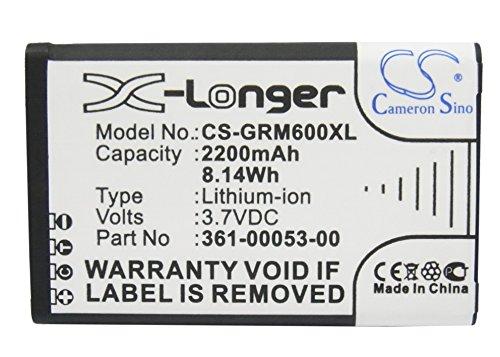 igation Akku passend für Garmin Montana 600 600T 650 650T Camo Alpha 100 handheld,ersetzt Garmin 361-00053-00 010-11599-00 010-11654-03 ()