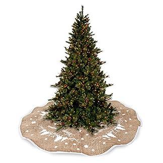 Windyeu-Weihnachtsbaum-Decke-Weihnachtsdeko-Rund-Rock