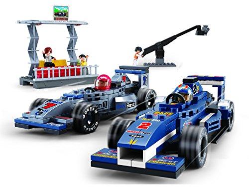 Sluban, M38-B0355 - Set di costruzioni Formula 1, con tribuna ...