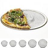 Vassoio per pizza 15,2- 35,6cm, in alluminio piatta antiaderente in rete pizza Screen teglia Bakeware Cookware 35,5 cm As Picture Show