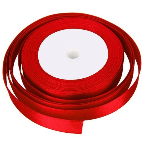 25-metres-x-10mm-of-satin-ribbon-for-wedding-favour-craft-gift-wrap-christmas-red