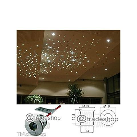 Kit Effet ciel étoilé blanc chaud froid spots LED Silver