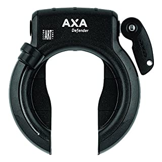Axa Unisex Adult Defender Black Bike Frame Lock - Black.