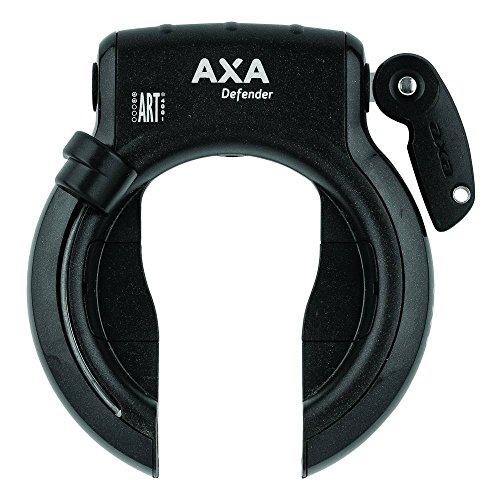 AXA 1X Rahmenschloss Defender Schwarz 12 x 10 x 10 cm