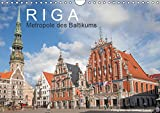 Riga - Metropole des Baltikums (Wandkalender 2019 DIN A4 quer): Lettlands Hauptstadt in einem imposanten Porträt. (Monatskalender, 14 Seiten ) (CALVENDO Orte)