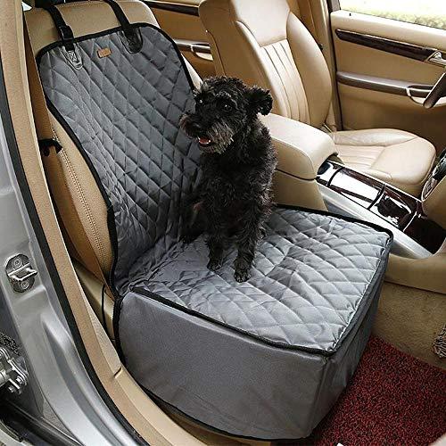 PANALL Neue Einzelsitzbezug Autositz Wasserdicht Pad Falten Dicke Matte Reise Fahren Sitzbezug Heimtierbedarf Hund Autositz Schützen Matte