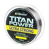 Robinson Angelschnur Titan Power Ultra Strong 150m/0,155-0,500mm stark ! (0,235mm / 13kg)
