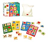 Jumbo Goula Wooden Memory Game and Lotto