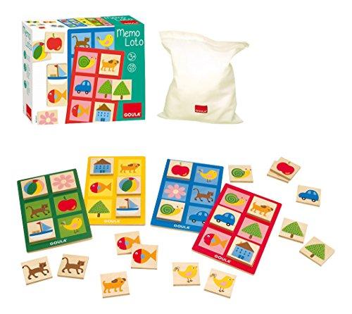 Goula - Memo Lotto, 28 piezas (Diset 53413)