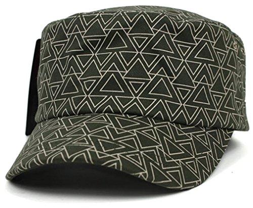 Sujii LINE TRIANGLE cadet militaire Baseball Cap casquette de baseball Trucker Hat casquette de camionneur chapeau extérieur