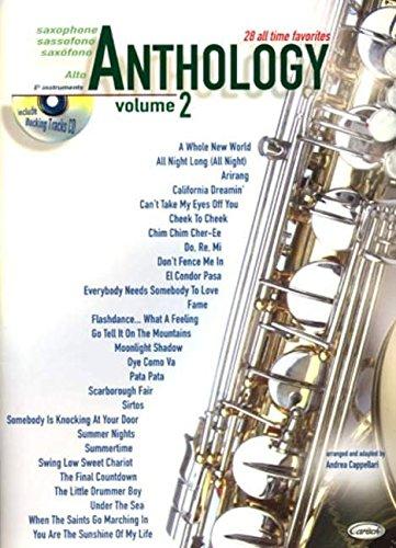 Anthology (Alto Sax & Eb Instrum.), Volume 2 (Anthology (Cappellari))