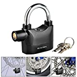 Dealcrox Alarm Padlock Electronic Alarm Lock For Door/Bicycle/Motorbike - Black