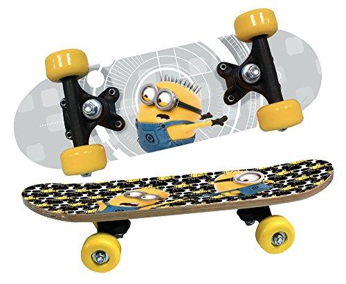 DESPICABLE ME MINIONS 93743 - DM3 Skateboard aus Holz, 43 x 12 x 8 cm