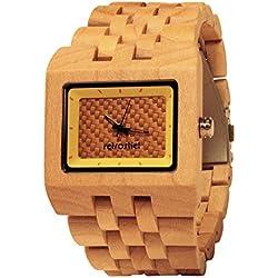 Holz Armbanduhr Square Maple