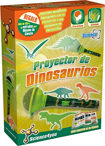 Science4you - Proyector de dinosaurios - juguete científico y educativo