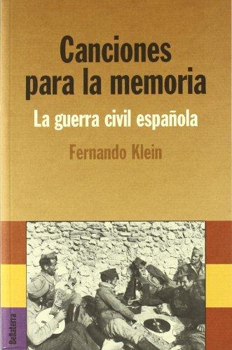 Canciones para la memoria por Klein Fernando