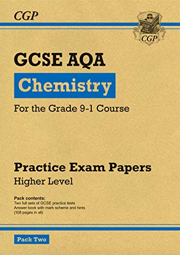 Grade 9-1 GCSE Chemistry AQA Practice Papers: Higher Pack 2