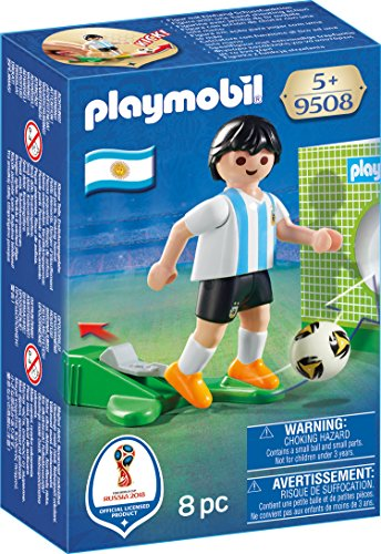 Playmobil Joueur de Foot Argentin, 9508, Multicolore