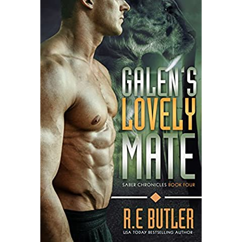Galen's Lovely Mate (Saber Chronicles Book 4) (English (Tooth Mate)