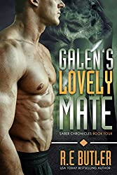 Galen's Lovely Mate (Saber Chronicles Book 4) (English Edition)
