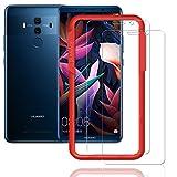Flos Verre Trempé Huawei Mate 10 Pro **Pack de 2** [Kit d'installation Offert], Film Protection écran en Verre Trempé écran Ultra Résistant [3D Touch Compatible] pour Huawei Mate 10 Pro
