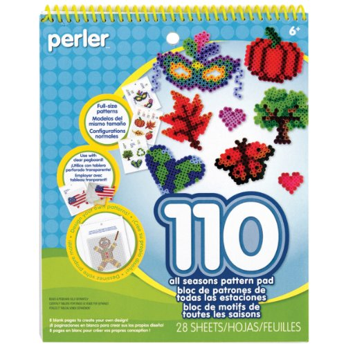 Perler Pattern Pad, Multi-Colour