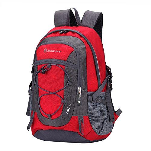 Soarpop deporte al aire libre / Escuela de mochila de peso ligero para acampar / viaje / Escalada / Correr / Ciclismo Mochila Bolsa