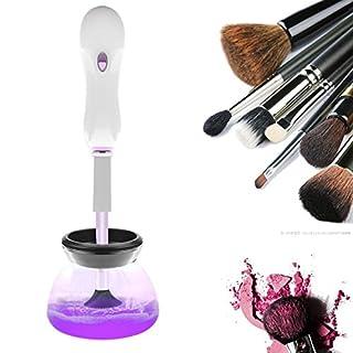 Pawaca Pinsel Reiniger, Automatisches Kosmetikpinsel Reinigungsgerät and Pinsel Trockner, 360 Degree Rotation Makeup Pinselreiniger zur Reinigung von Kosmetikpinseln, Schnell und Effektive
