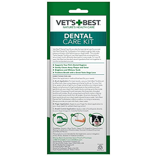 Vets-Best-Complete-Enzymatic-Dental-Care-Toothpaste-and-Toothbrush-Kit-for-Dogs