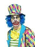 Smiffys Déguisement Homme, Dents de Clown Psychopathe, avec dents, perles de fixation, Taille unique, Couleur: Jaune, 47019