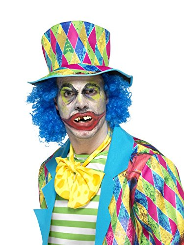 Smiffys Unisex Psycho Clown Zähne mit Flecken, One -