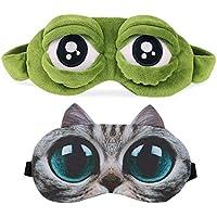 Schlafmaske 3D Herren Frauen Kinder Damen Frosch Katze Hund Muster Katzenmaske Interessant Schlafmaske preisvergleich bei billige-tabletten.eu