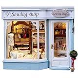 Dollhouse miniature handmade kit set Europe travel diary dressmaking shop PT-ETJ02 (japan import)