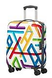 American Tourister - Jazz 2.0 - Spinner 55/20 Koffer, 33 Liter, Geometric Print